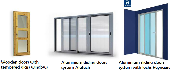 Door - Sliding doors